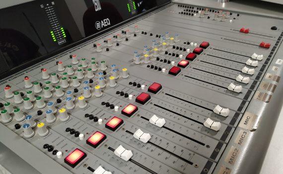 Mesa de Radiodifusión