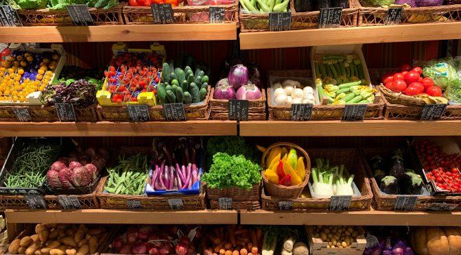 Ciclo de comercialización de productos alimentarios