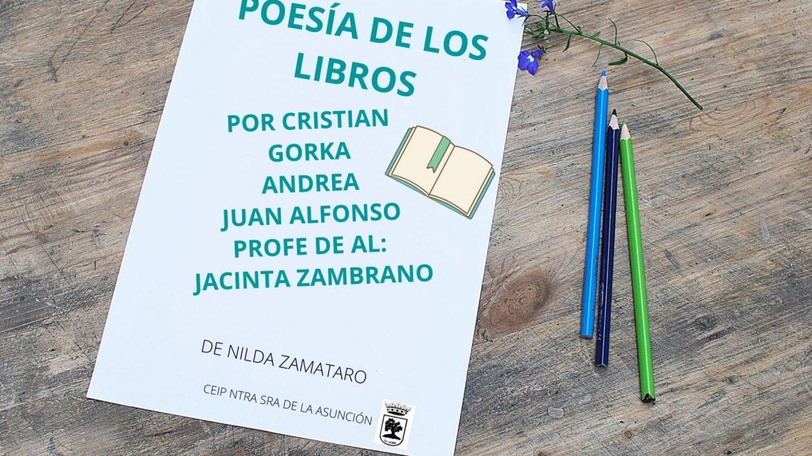 POESÍA DE LOS LIBROS