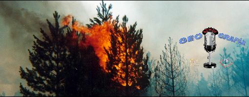 Geo-Radio-Grafía: Incendios forestales
