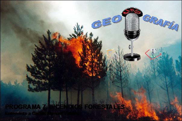 GeoRadioGrafía 7. Incendios forestales.