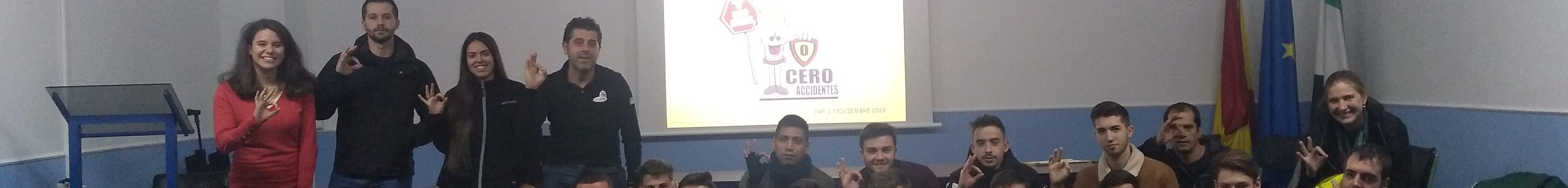 """Formadores y formados sellan un pacto: """"lograr CERO accidentes"""""""