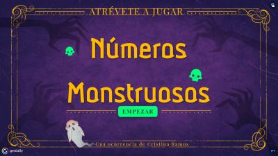 Halloween: Números monstruosos